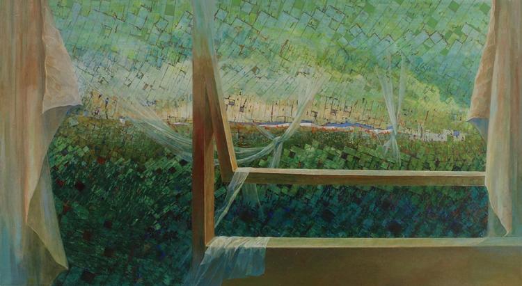 Landscape (2014) · mixed media