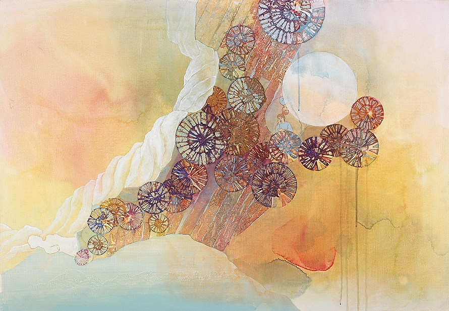 Echoes (2007) · mixed media
